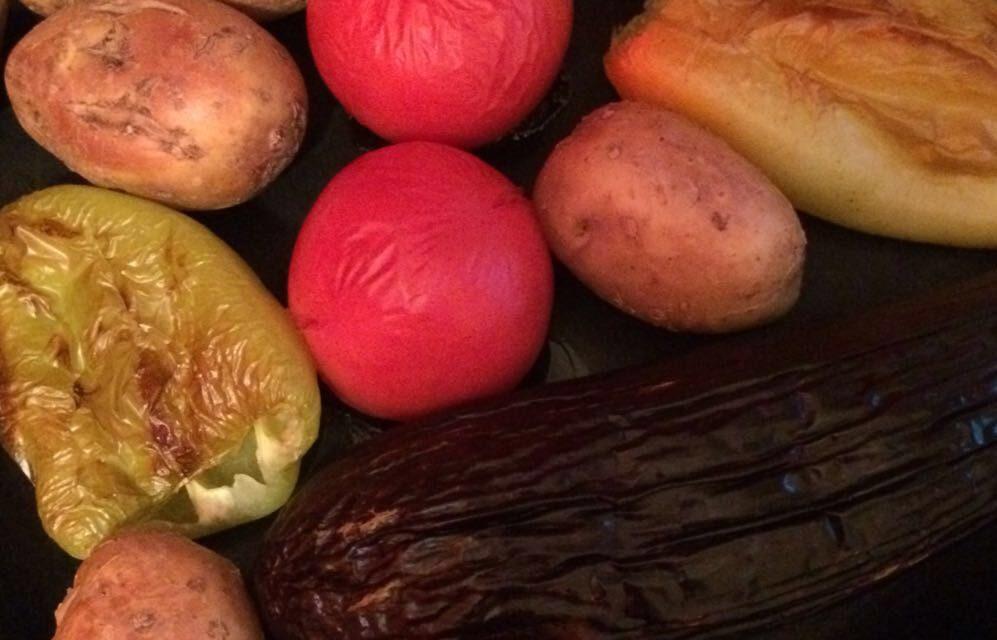 Правильное питание рецепты с фото — Овощи запеченные в духовке