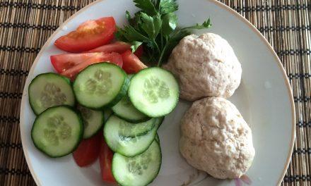 Правильное питание обед — Куриные котлеты на пару