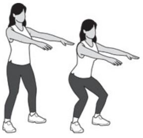комплекс упражнений для коленных суставов