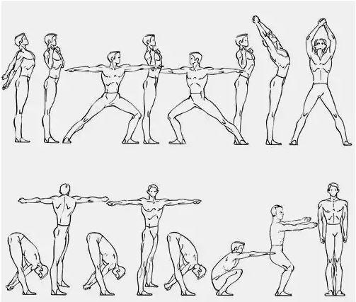 комплекс вольных упражнений
